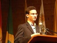 Aluno do Campus Campina é o representante da Paraíba no Parlamento Juvenil do Mercosul