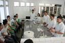 Estudantes ministram mini curso na VIII Semana de Ciência e Tecnologia do campus Campina