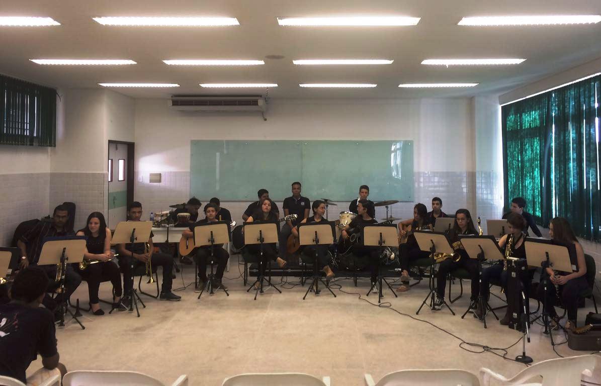 Orquestra Experimental do Campus Monteiro participa de evento