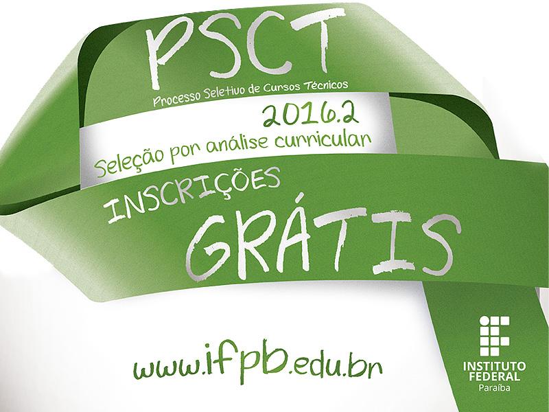 PSCT abre inscrições até 15 de julho para 350 vagas