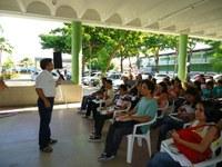 Ascom participa do receptivo aos calouros no Campus João Pessoa