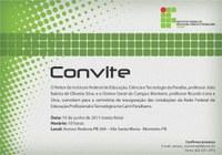 Campus Monteiro do IFPB terá inauguração oficial nessa sexta-feira