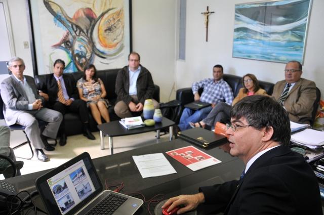 Comitiva de Portugal visita o IFPB