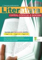 Concurso Multicampi de Literatura inscreve até dia 30 de novembro
