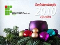 Confraternização Natalina do IFPB será no próximo dia 23