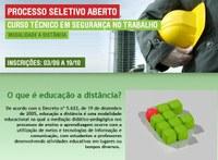 Convocação para vaga remanescente em Segurança do Trabalho