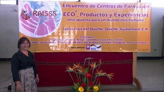 Coordenadora do CRR-IFPB participa de evento de Integração Latino Americana na Guatemala