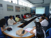 Coordenadores de Polo da EaD do IFPB se reúnem com equipe da Rede E-Tec Brasil