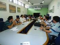 Coordenadores do Curso Técnico em Segurança no Trabalho EaD se reúnem na Reitoria