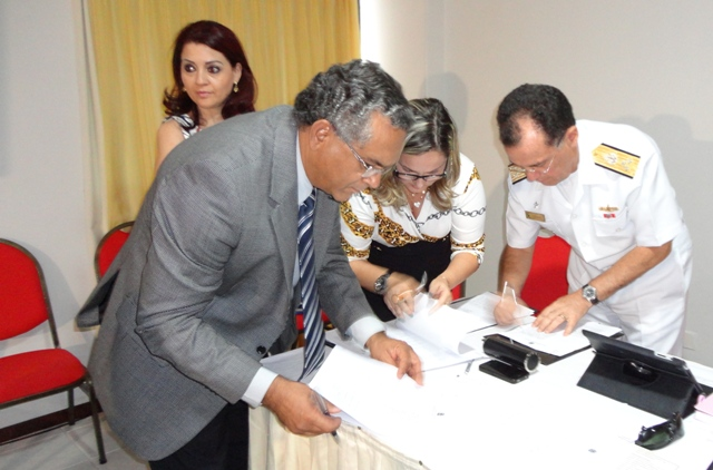 CRPNM assina acordo com a Marinha em Fórum do Conif