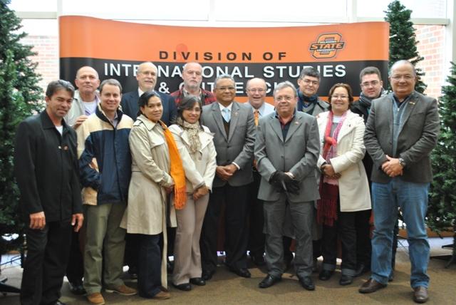 Delegação do IFPB visita Universidade de Oklahoma (OSU)