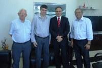 Deputado Luciano Cartaxo visita Reitor do IFPB