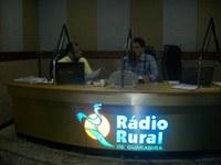 Diretor do Núcleo Avançado de Guarabira concede entrevista na Rádio Rural FM