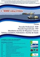 Divulgada lista de inscritos no Ensino Profissional Marítimo do CRPNM