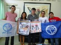 Entidades estudantis visitam IFPB