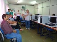 Equipe da UAB conhece projetos de educação à distância do IFPB