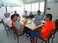 Equipe de Educação Física se reúne para tratar sobre as atividades desportivas do IFPB
