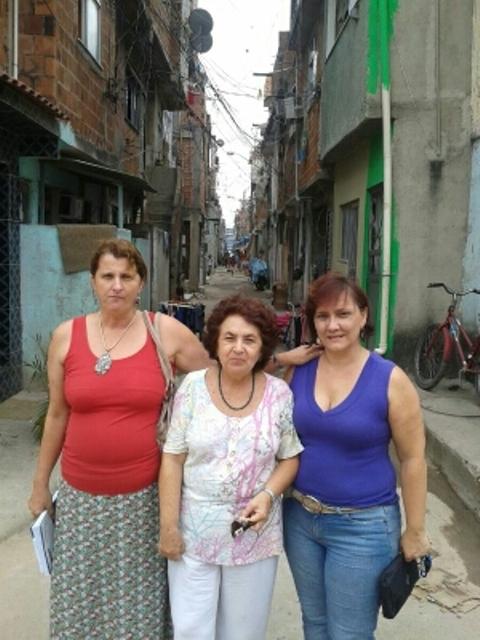Equipe do CRR-IFPB participa de curso na Favela da Maré/RJ