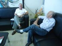 Ex-diretor Bráulio Pereira visita Reitoria