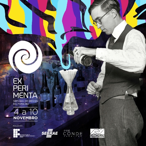 EXPERIMENTA, o maior evento de Design da Paraíba começa nesta segunda-feira (4)