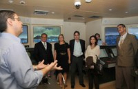 Grupo de Capacitação Interministerial na Área de Pesca visita Diretoria de Portos