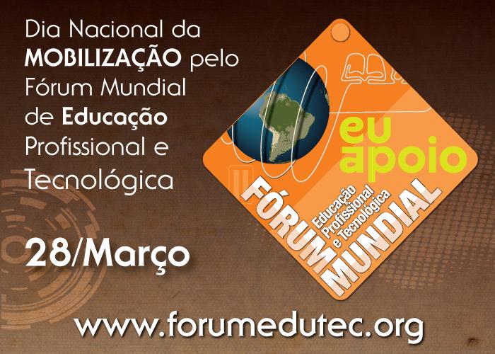 Hoje é Dia Nacional de Mobilização pelo Fórum Mundial