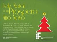 IFPB deseja um Feliz Natal e Próspero Ano Novo