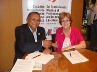 IFPB firma Protocolo de Intenções com instituições canadenses