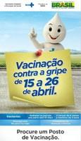 IFPB incentiva a participação de servidores na Campanha Nacional de Vacinação contra a Influenza