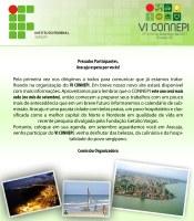 IFPB integrará Connepi 2011 na capital sergipana