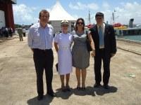 IFPB participa da inauguração de embarcações em Cabedelo