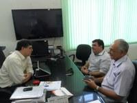 IFPB recebe visita do prefeito de Itabaiana