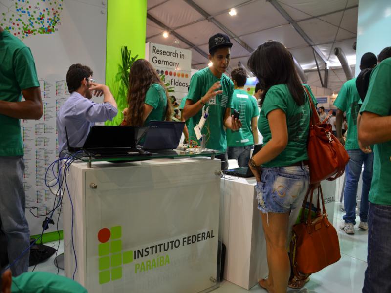 IFPB traz inovação tecnológica e sustentabilidade à SBPC