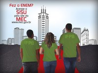 IFPB vai convocar 448 através de lista de espera do Sisu