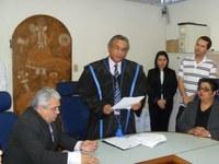 Nicácio toma posse para mais um mandato no Campus Campina Grande