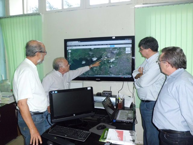 Novos Secretários de Educação e Finanças de Santa Rita visitam o IFPB