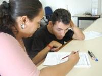 Portadores de deficiência realizam provas e elogiam PSCT 2011