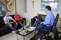Prefeito de Itaporanga discute com direção do IFPB andamento da implantação do novo Campus