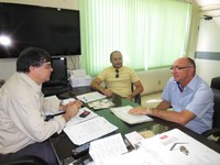 Prefeito de Itaporanga visita o IFPB