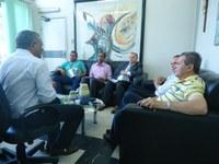 Prefeito eleito de Santa Rita faz visita ao IFPB