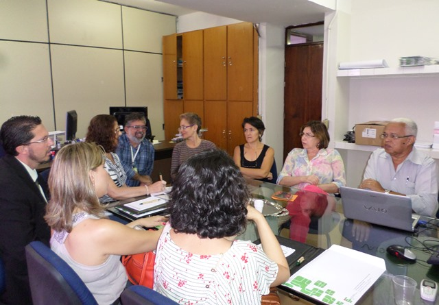 Proext recebe visita de gestores do IFB