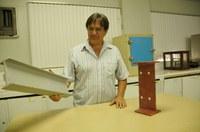 Professor inova na montagem de estruturas metálicas