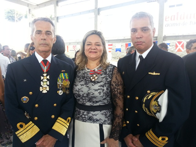 Professora do IFPB recebe honraria da Marinha do Brasil