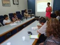 Projetos institucionais do IFPB são apresentados para a comitiva de peruanos
