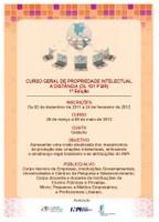 PRPIPG divulga inscrições para o Curso Geral de Propriedade Intelectual a distância