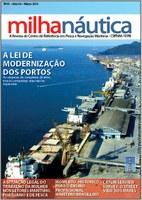 Publicada segundo exemplar da revista Milha Náutica