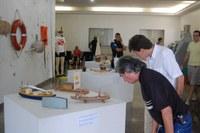 Réplicas de Embarcações Históricas estão expostas no hall do IFPB
