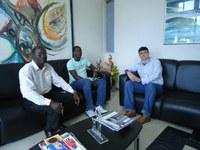 Representantes de Guiné-Bissau visitam o IFPB