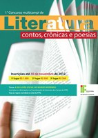 Reta final para as incrições no I Concurso Multicampi de Literatura