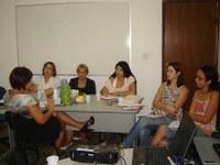 Reunião discute capacitação de técnicos da SMS contra as drogas